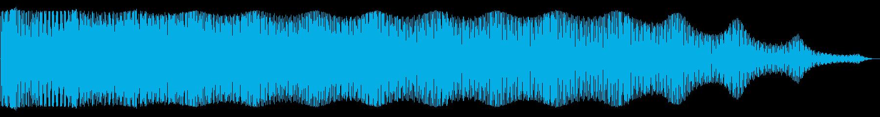 グワングワン(騒音)の再生済みの波形