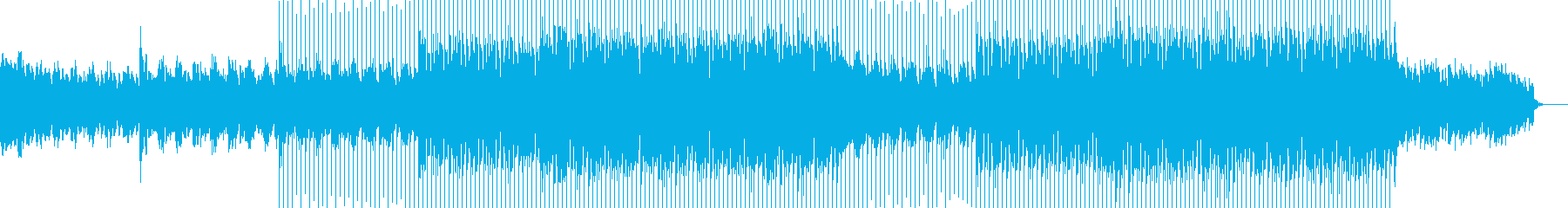 EDMクラブ系ダンスミュージック-14の再生済みの波形