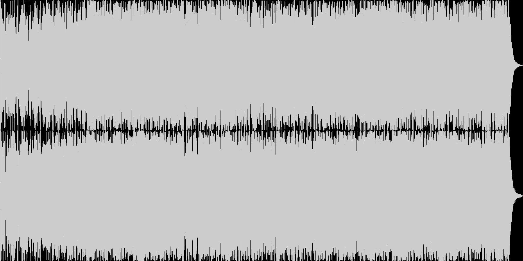 ダークファンタジーオーケストラ戦闘曲23の未再生の波形