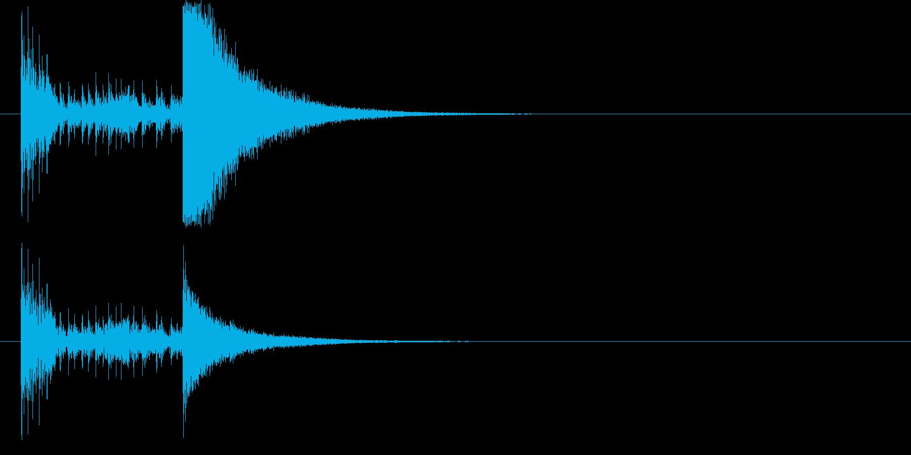 結果発表ドコドコ・ロール2秒シンバル有の再生済みの波形