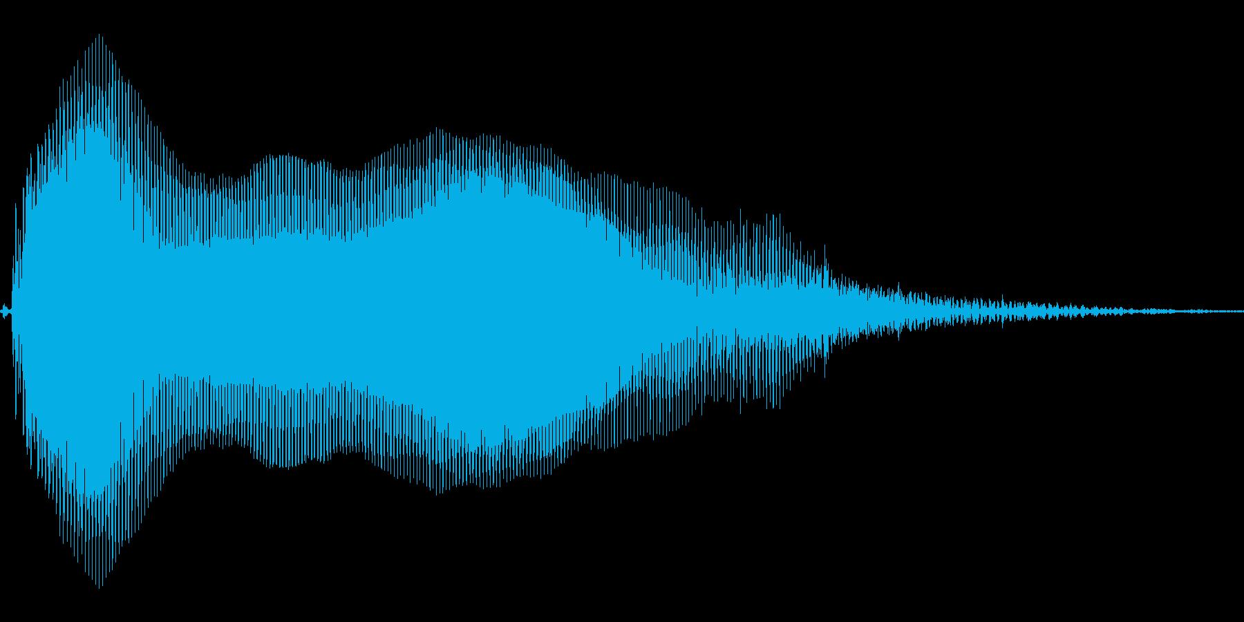 あああ!【子供のダメージボイス、悲鳴】の再生済みの波形