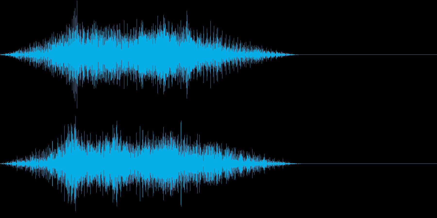 GAME 可愛いめなエンジン音 ターボの再生済みの波形