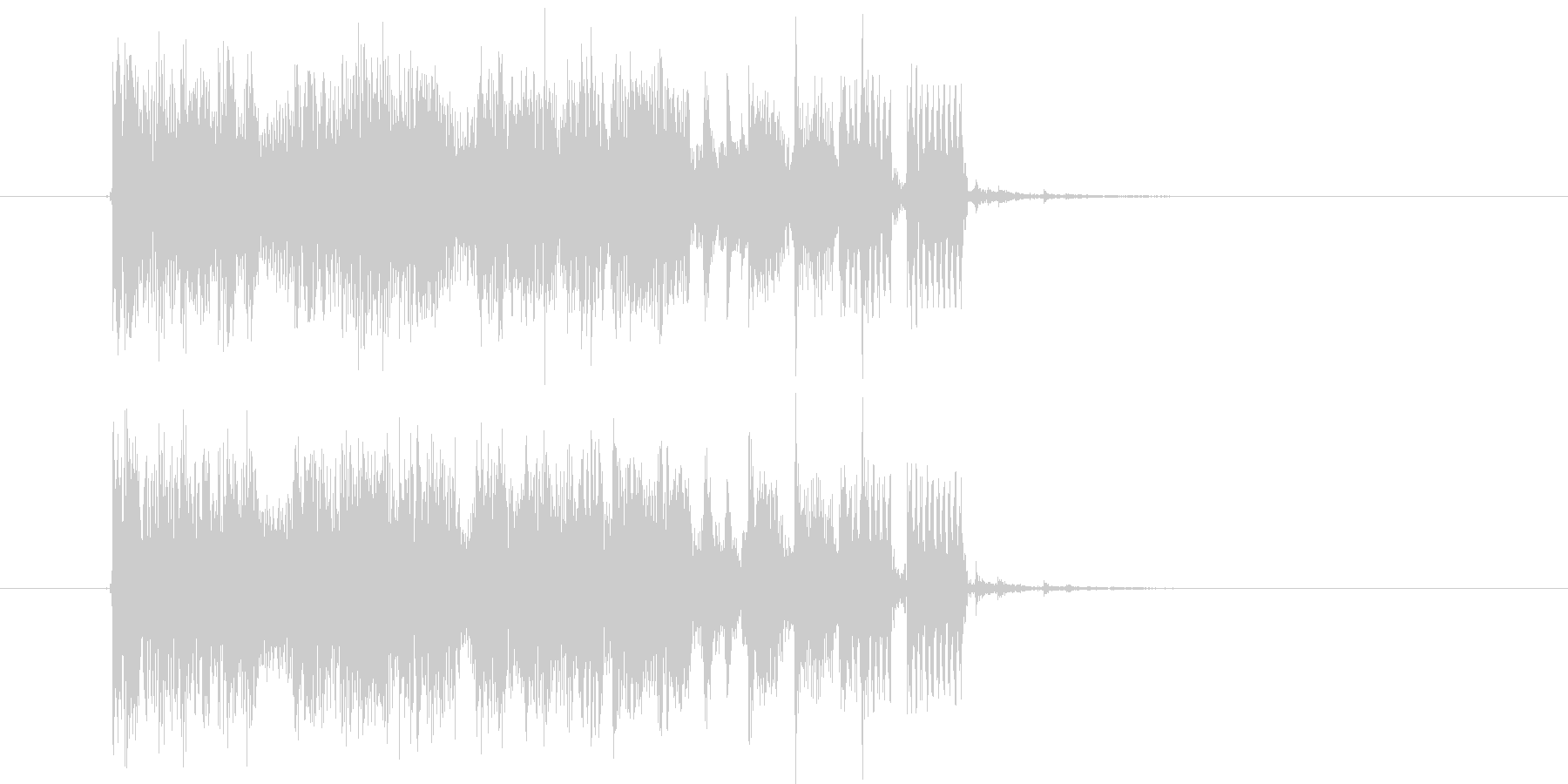 メローで悠長なシンセポップジングルの未再生の波形