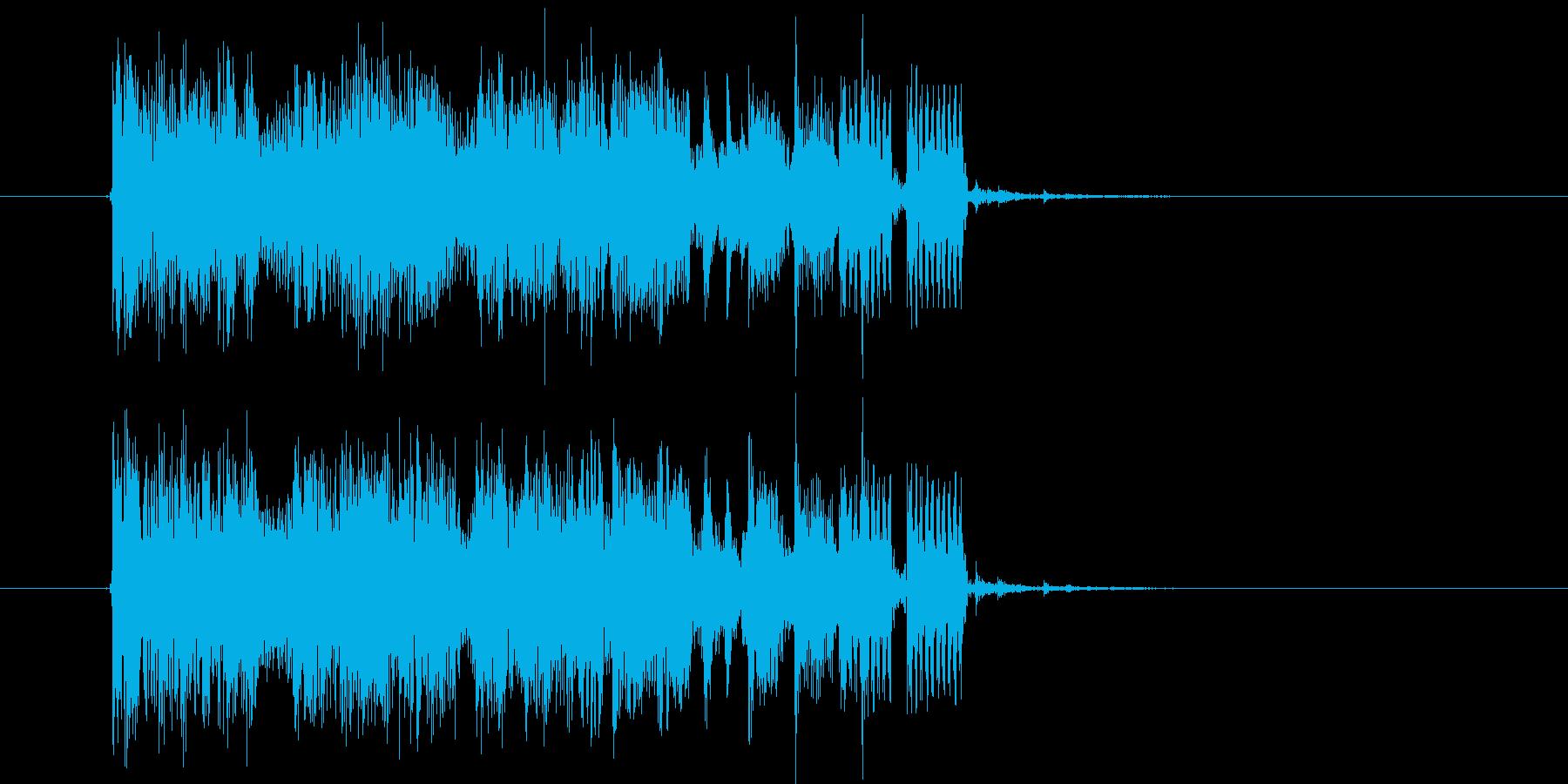 メローで悠長なシンセポップジングルの再生済みの波形