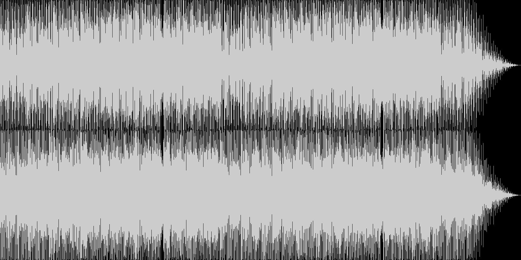 ポップで可愛いボサノバの未再生の波形