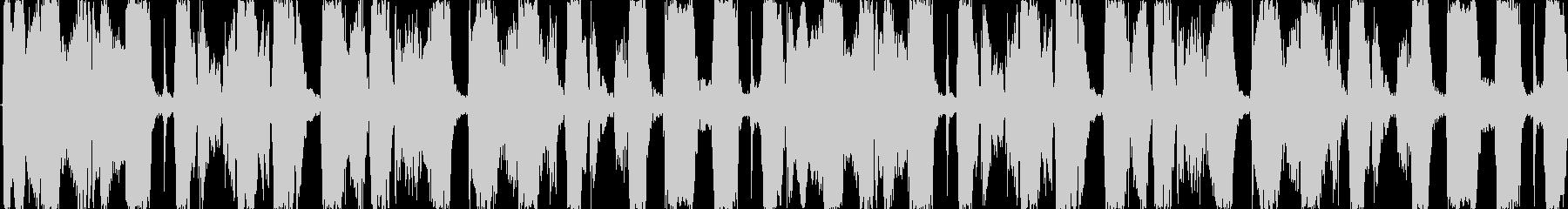 EDM系BGMの未再生の波形