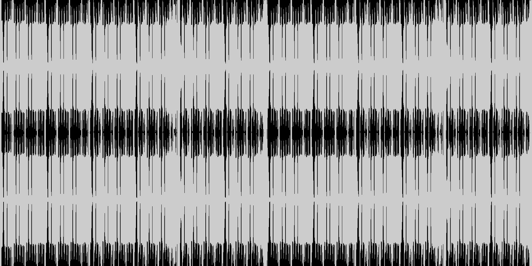 8bit・チップチューン・ピコピコの未再生の波形