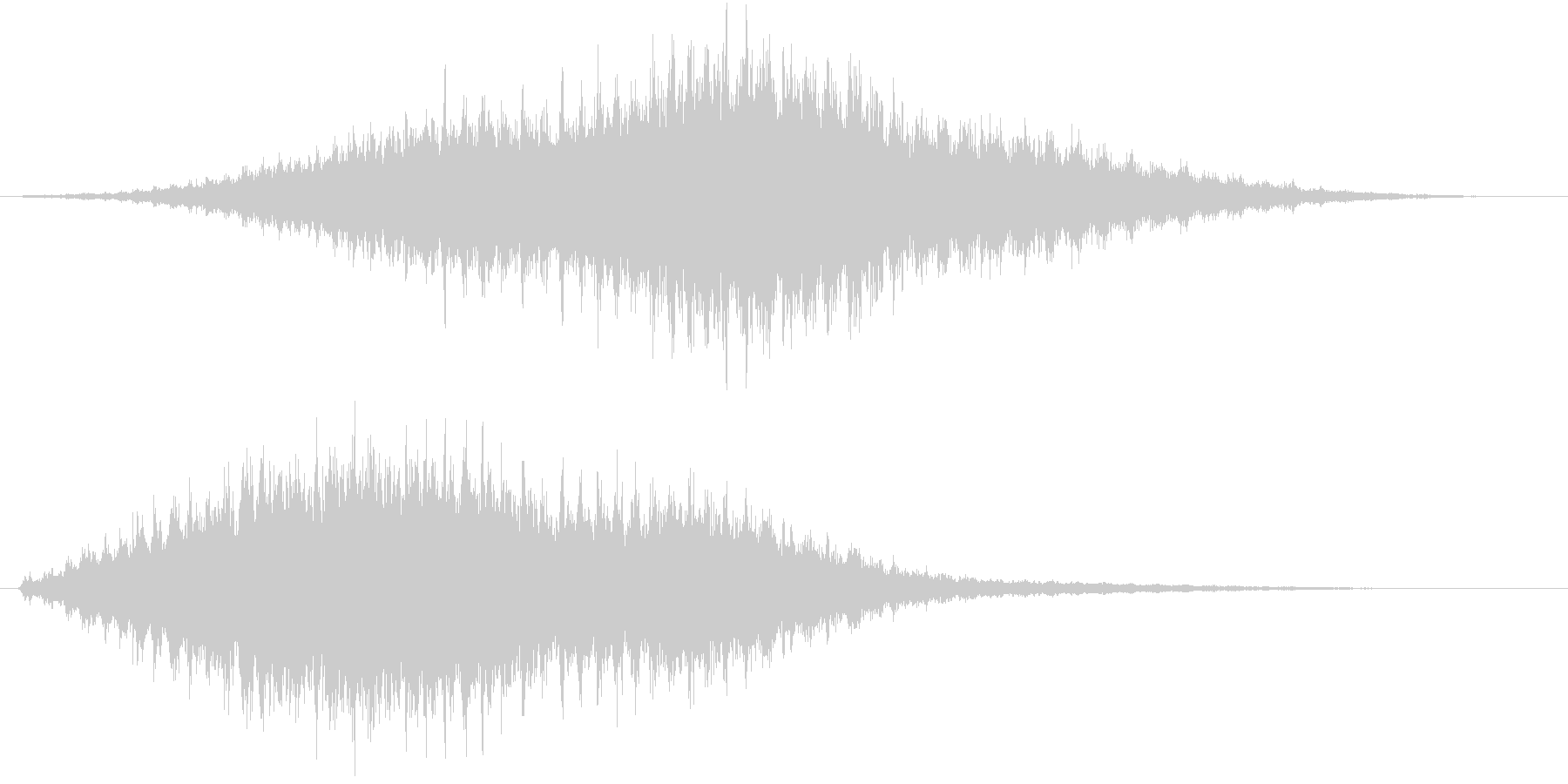 音侍SE「フルフル〜」重めな振り鈴R-Lの未再生の波形