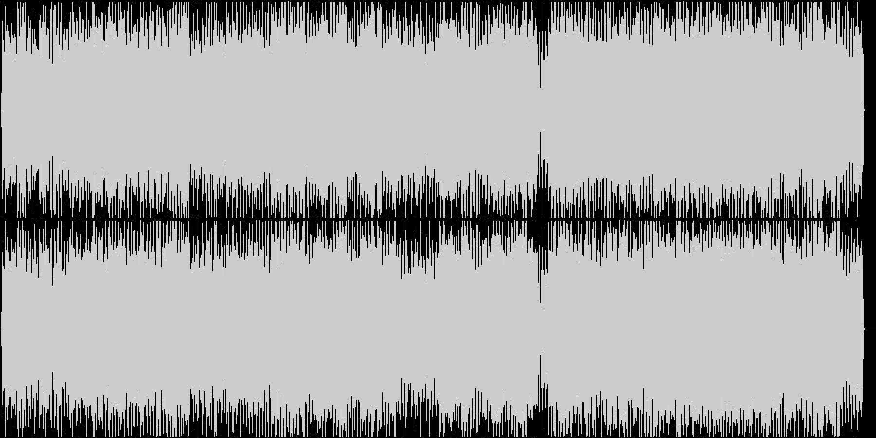 疾走感のあるギターインストの未再生の波形