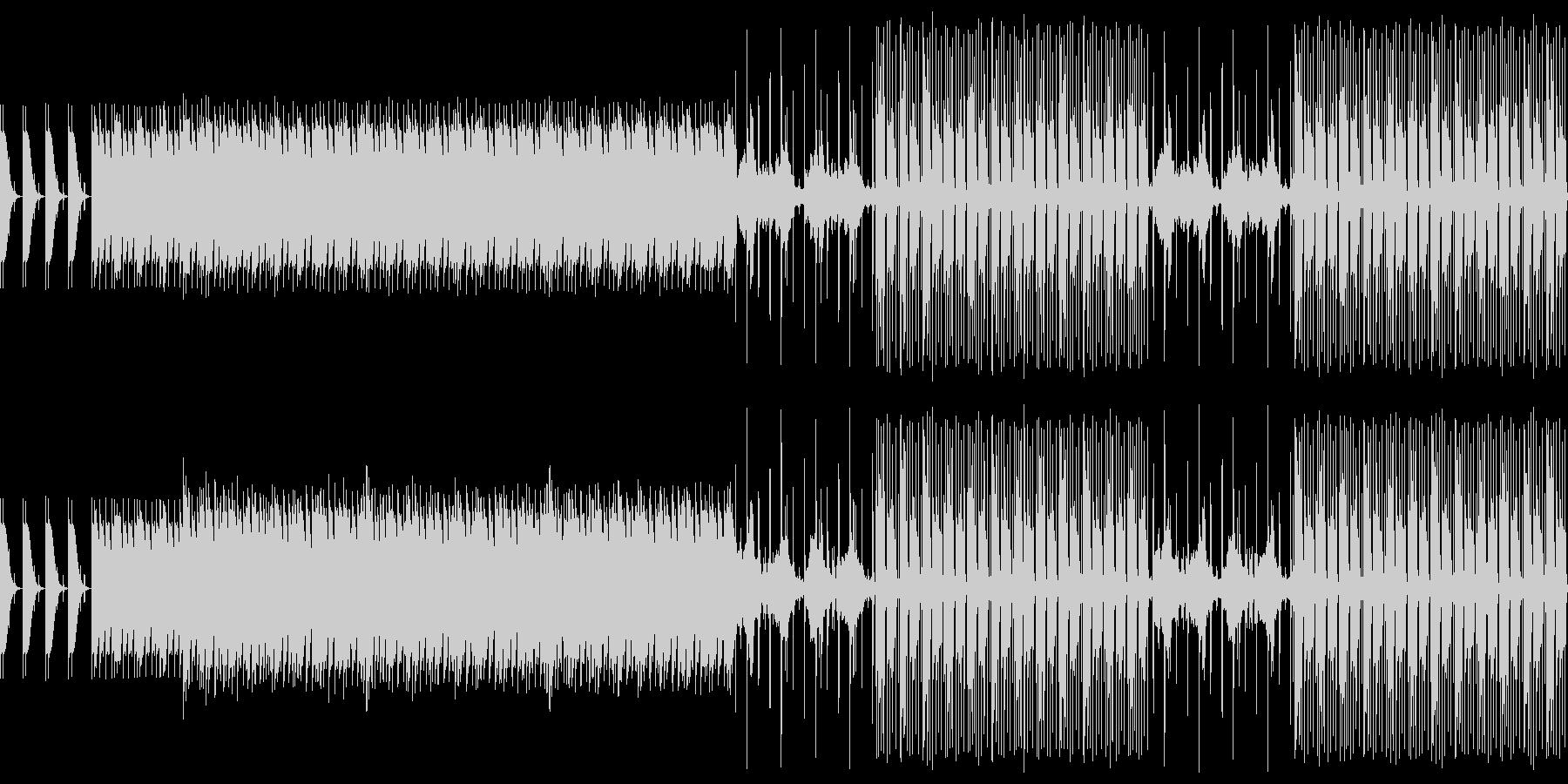 ズバリ 緊張感の高まる音源の未再生の波形