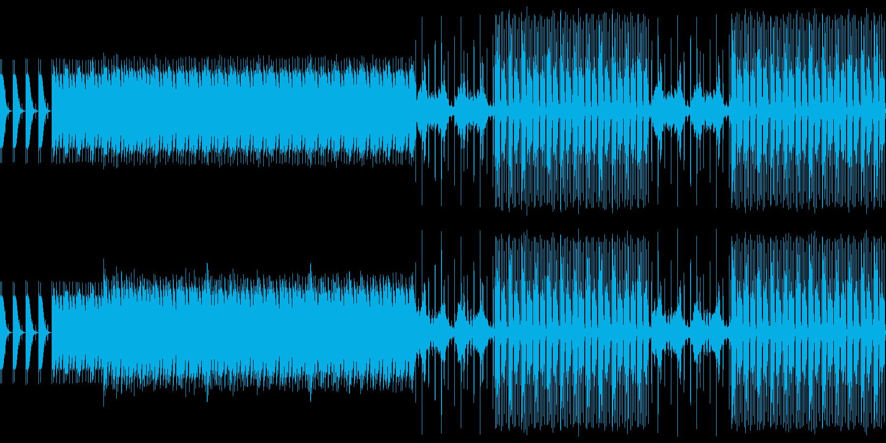ズバリ 緊張感の高まる音源の再生済みの波形