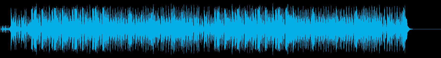 子供達のとぼけたアニメ風コミカル/ポップの再生済みの波形
