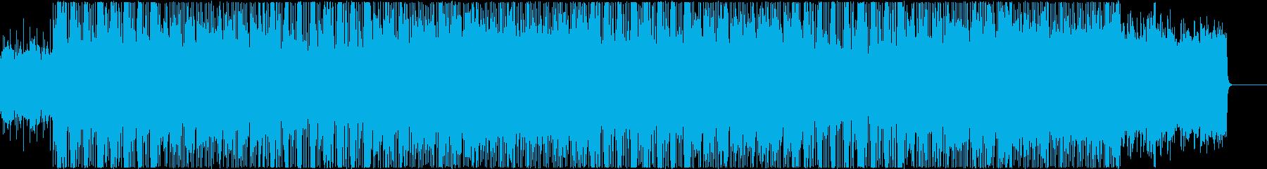 ノスタルジックなメロディの再生済みの波形