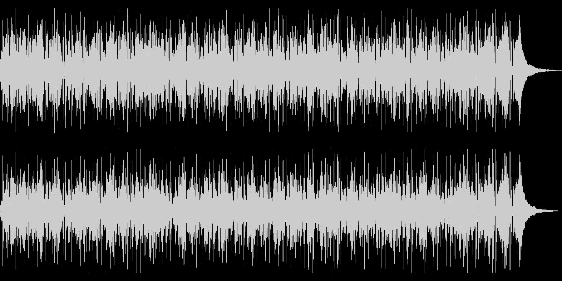 リラックスムードが漂うボサノバの未再生の波形
