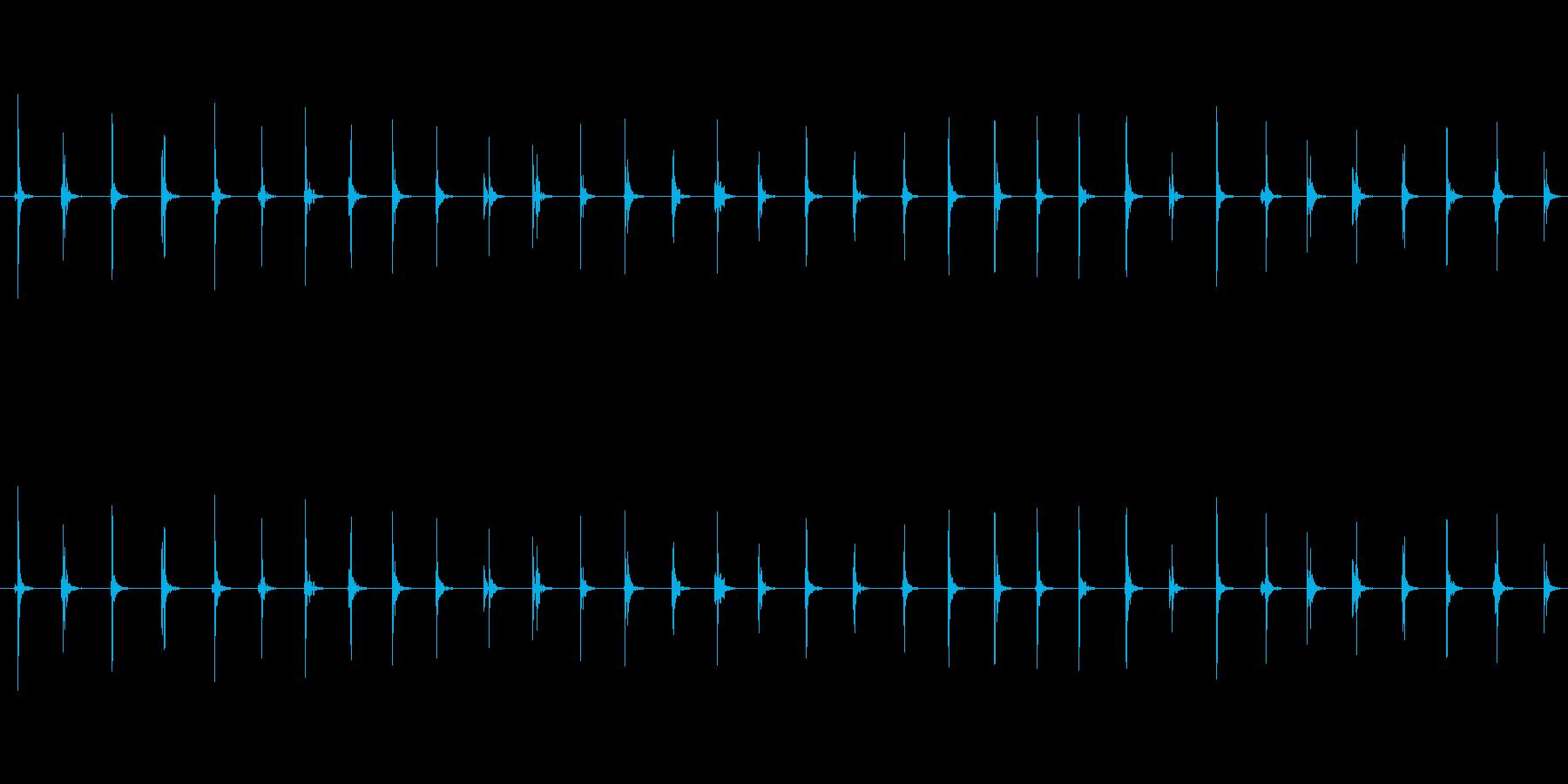 【足音03-2L】の再生済みの波形