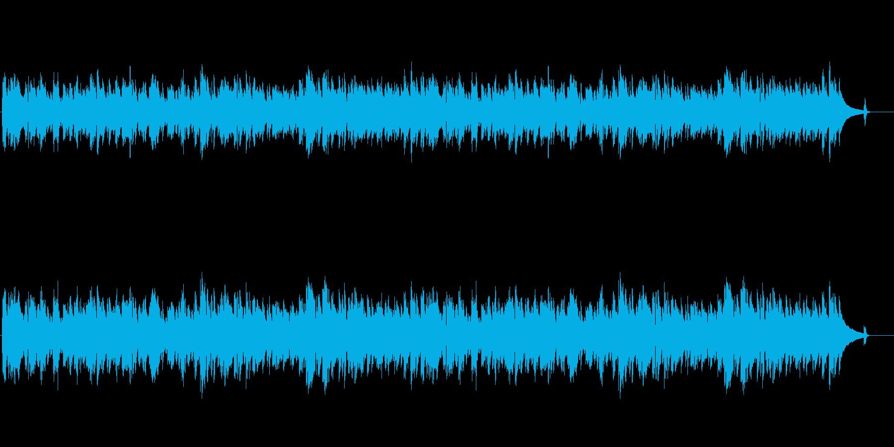 独りぼっちの街角イメージのジャジーな曲の再生済みの波形
