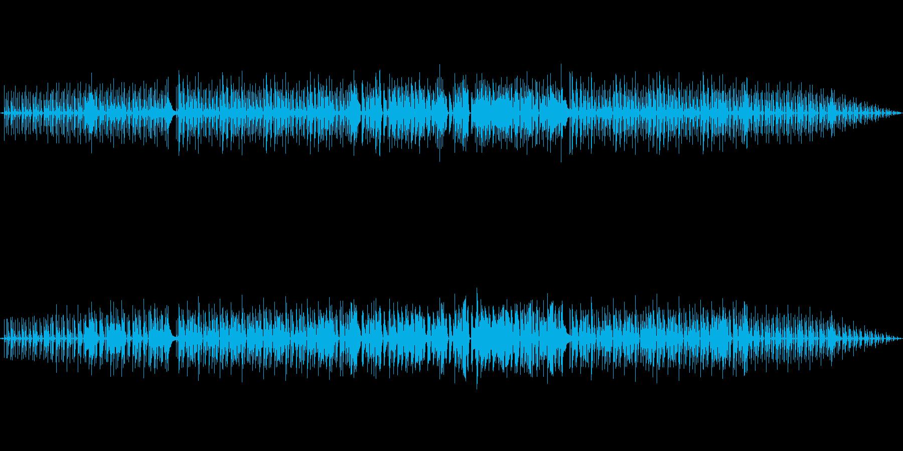 インスト曲です。明るく前向きな曲です。…の再生済みの波形