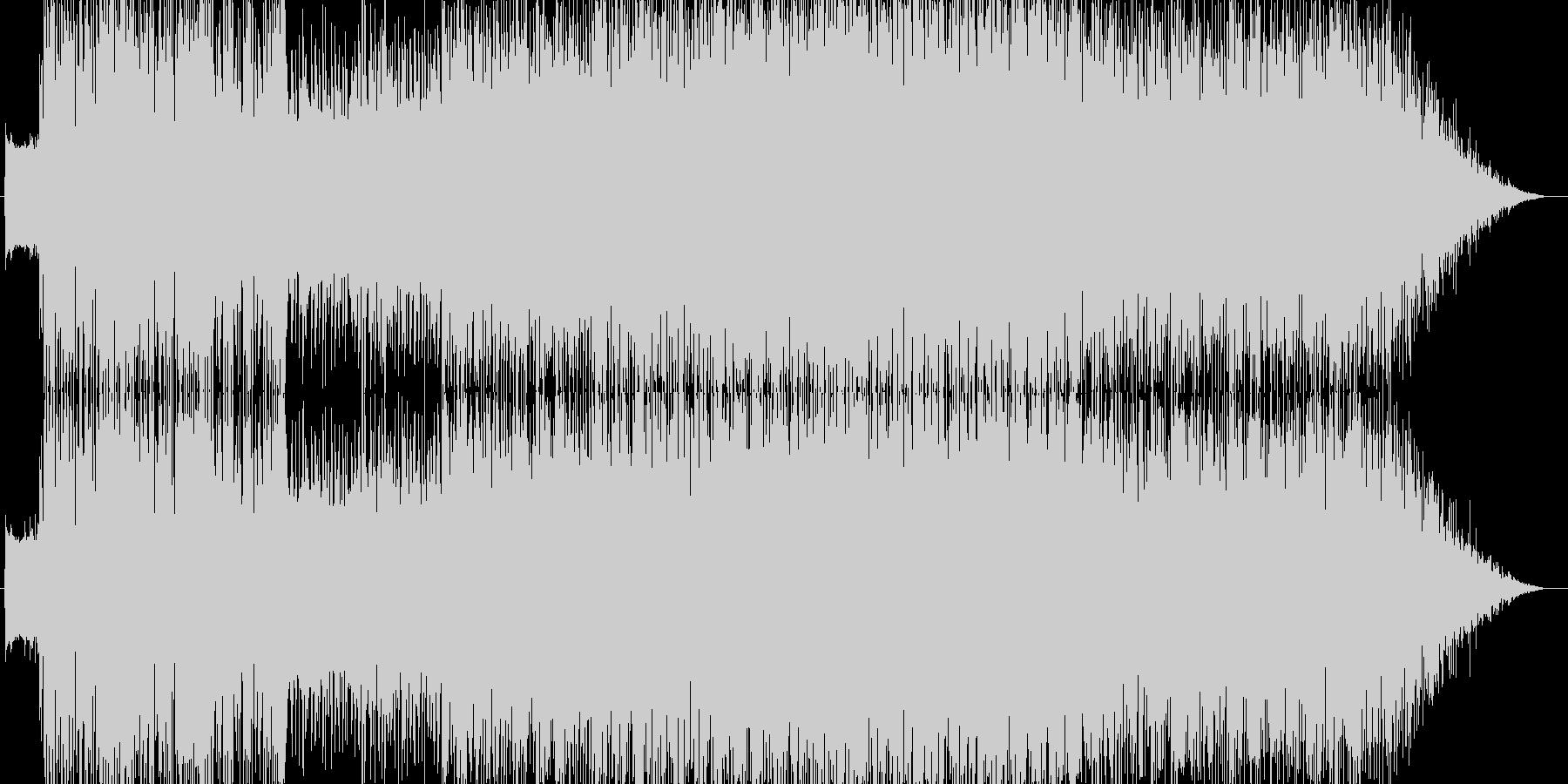 宇宙空間をイメージしたデジタルロックの未再生の波形