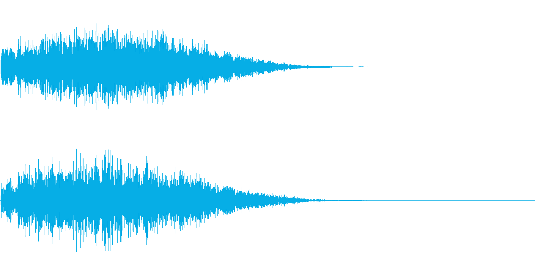 チャイム 2の再生済みの波形