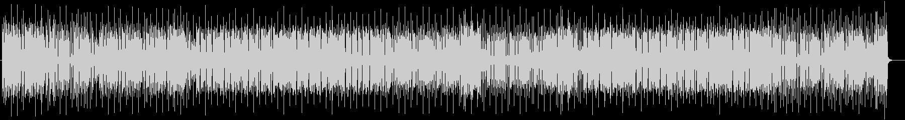 穏やかでリズミカルな木琴ポップスの未再生の波形