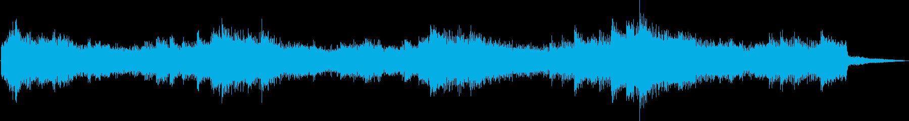 美しく幻想的なヒーリングジングルの再生済みの波形