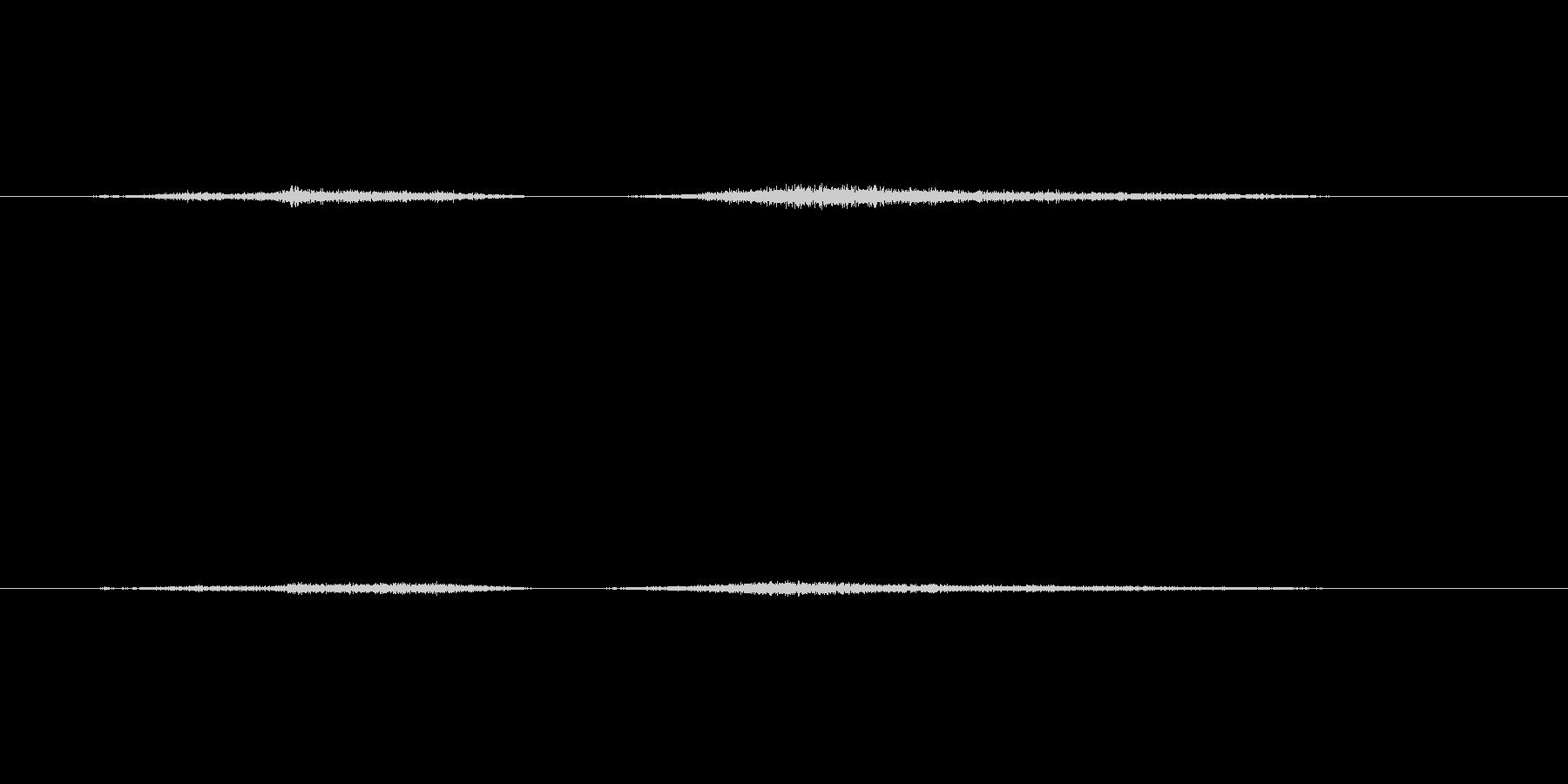 【生音】触れる・肌 - 1 「さすり」の未再生の波形