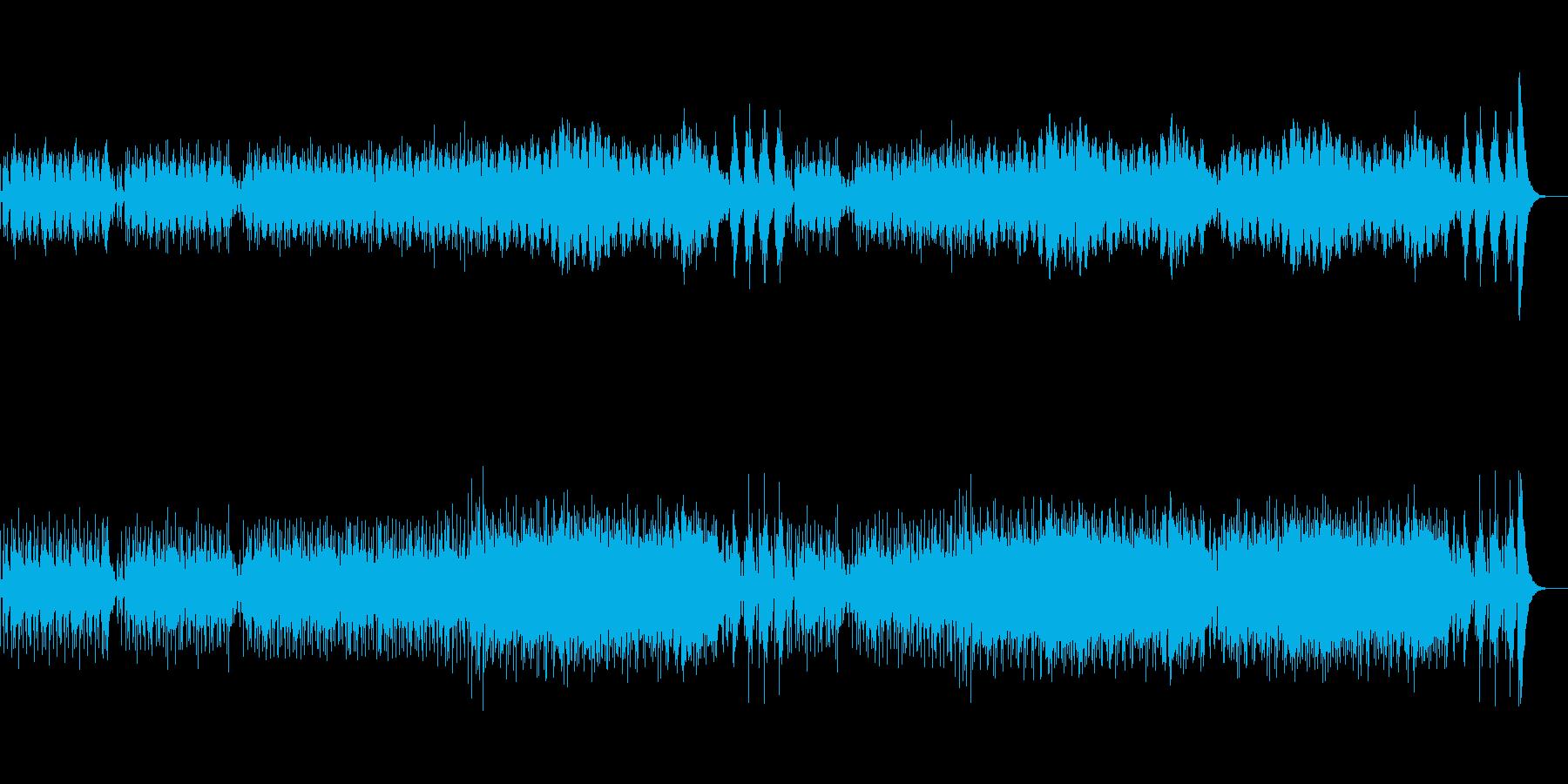 ドワーフの村に使えそうなBGMの再生済みの波形