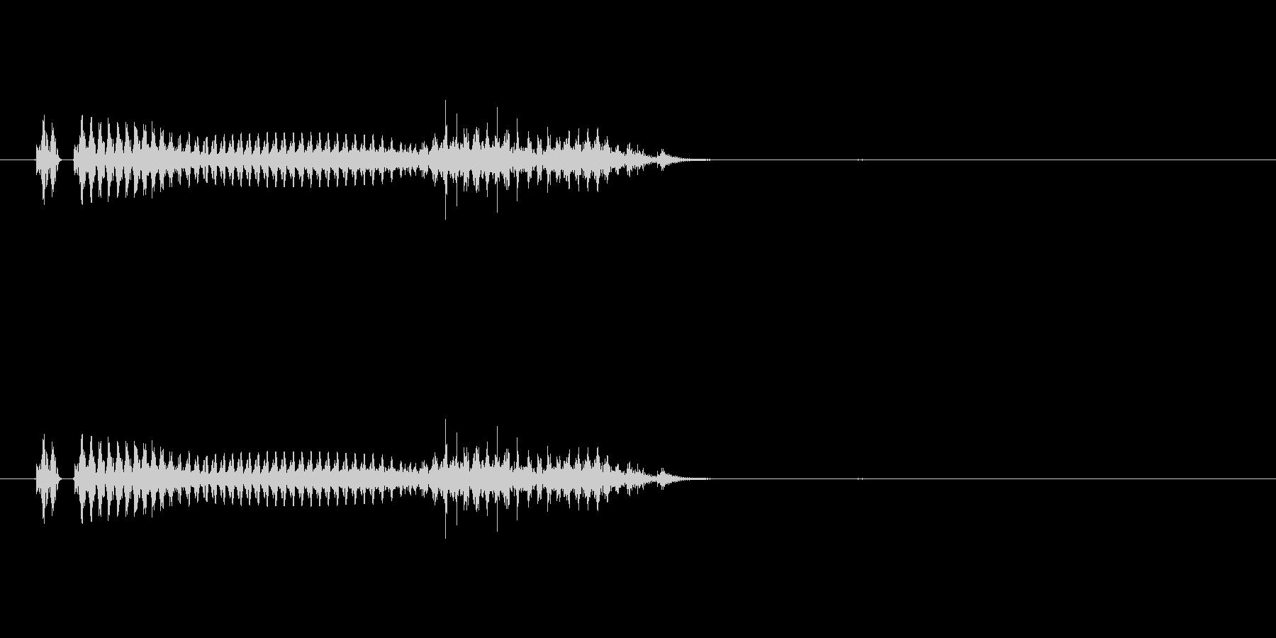 筒子(麻雀)の未再生の波形