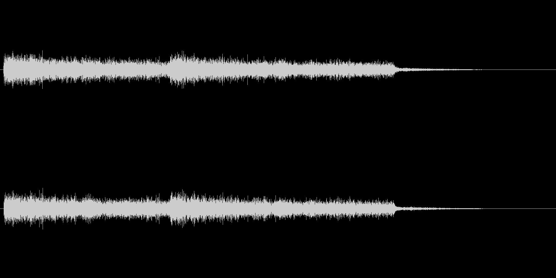 シンセパッド音の未再生の波形