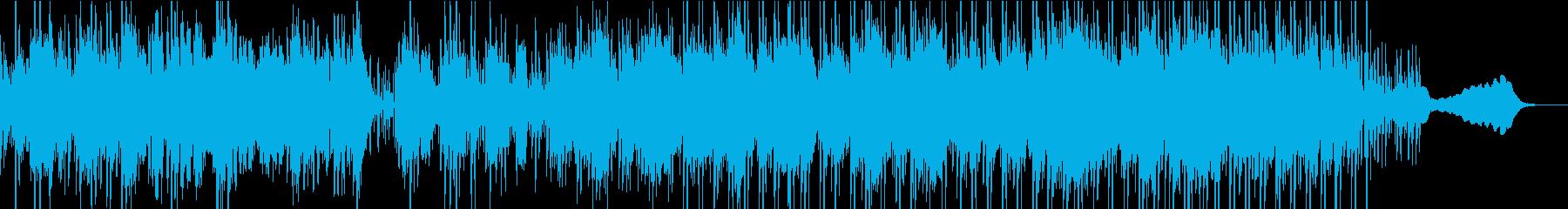 ほのぼのしたエレクトロニカの再生済みの波形