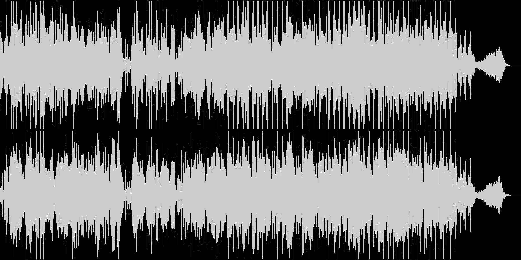 ほのぼのしたエレクトロニカの未再生の波形