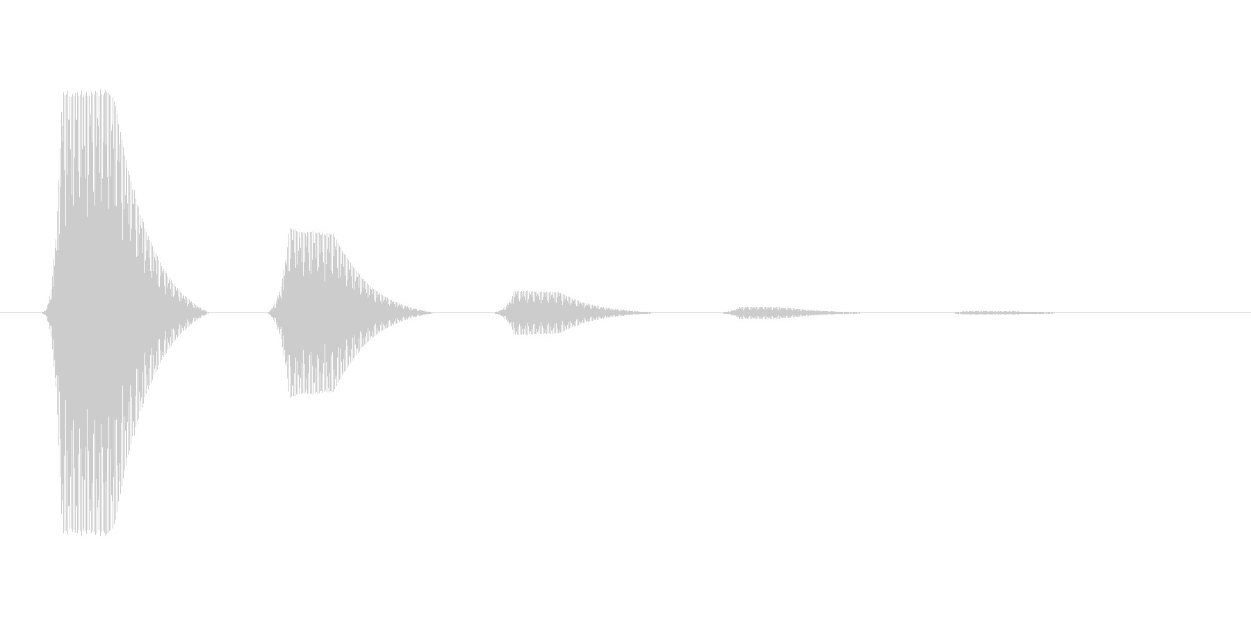 ファミコン風効果音カーソル系です 07の未再生の波形