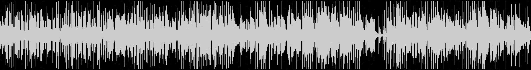 アバター、キャラクター作成用BGMの未再生の波形
