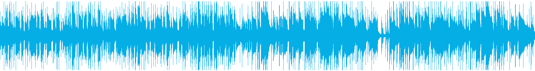 アバター、キャラクター作成用BGMの再生済みの波形