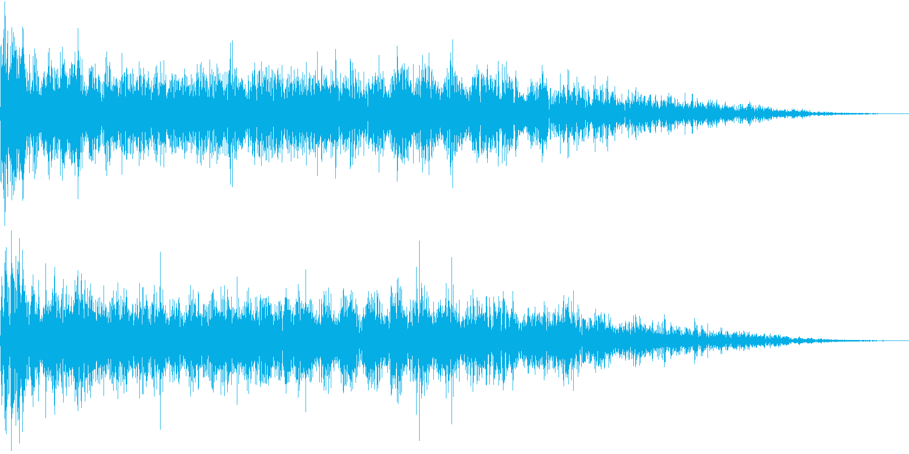 InvaderBuzz 発砲音 15の再生済みの波形