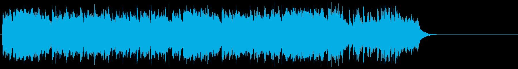 感動的で軽やかなポップ(サビ~エンド)の再生済みの波形