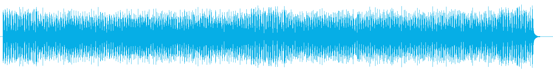 明るくメルヘンなシンセサイザーサウンドの再生済みの波形