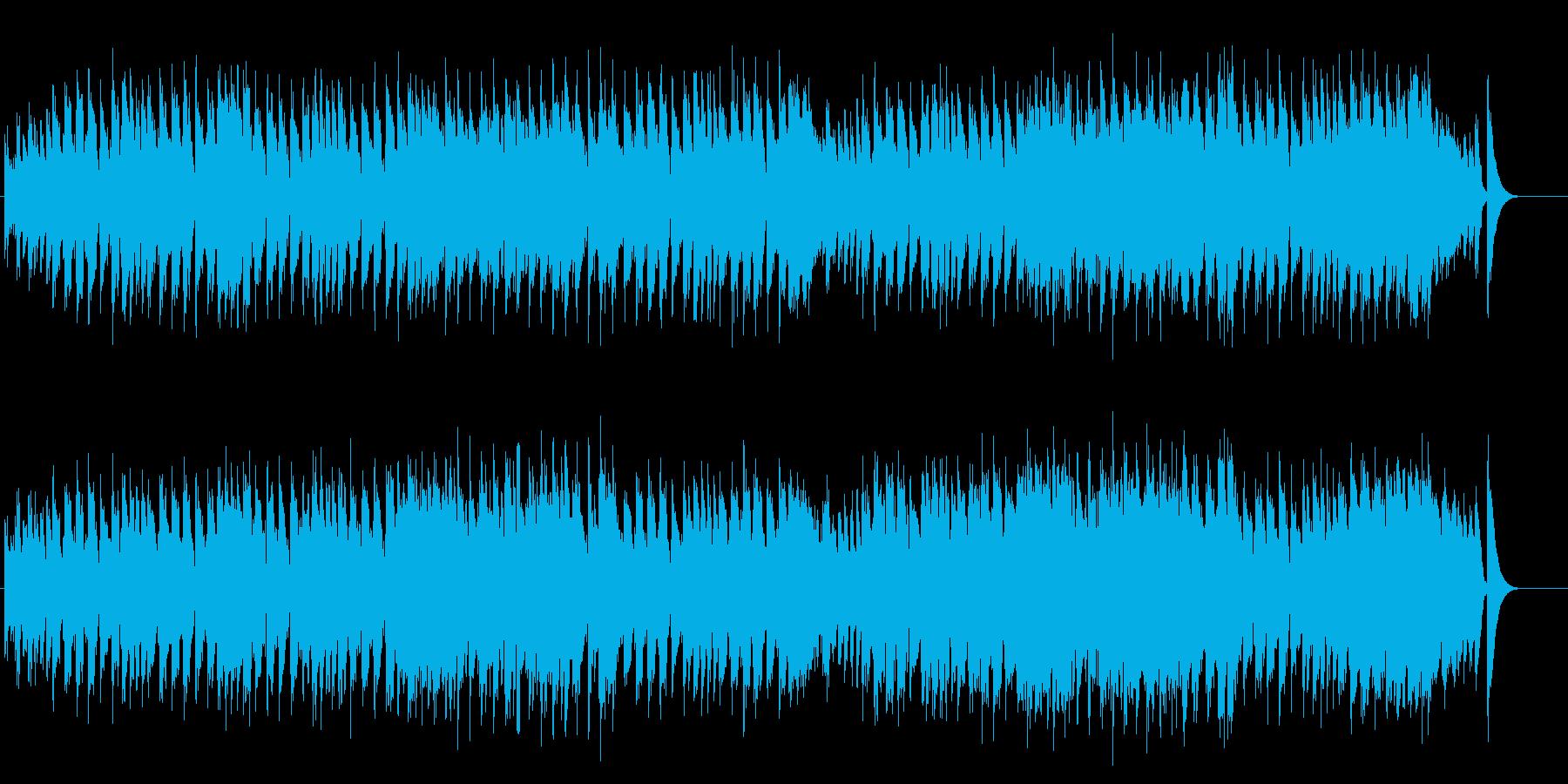 爽やかスイス風ユーロ・ポップスの再生済みの波形