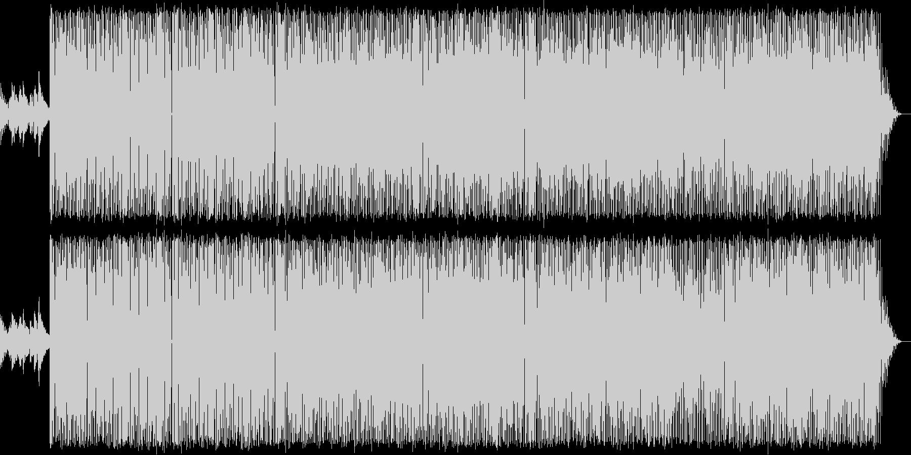 ミディアムテンポの70年代ソウル系POPの未再生の波形