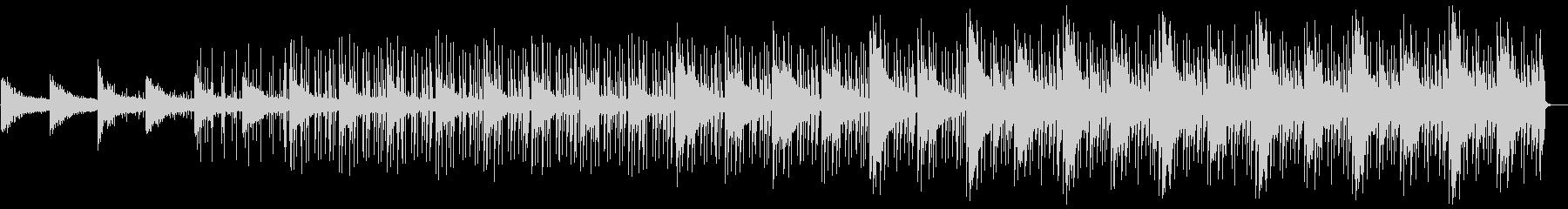 クールで軽やかなエレクトロBGMの未再生の波形