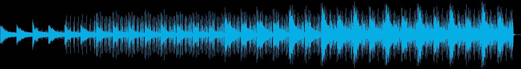 クールで軽やかなエレクトロBGMの再生済みの波形