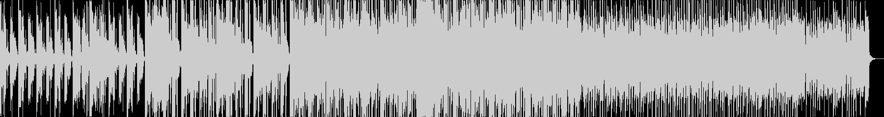 ダークなグリッチトラップの未再生の波形