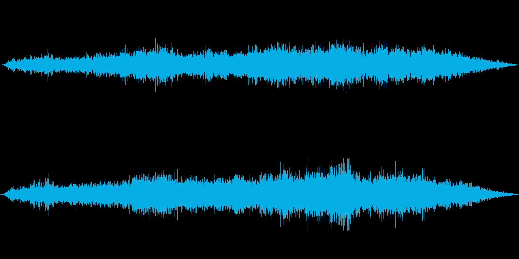 風の効果音(強風、木枯らし、ビル風等)1の再生済みの波形