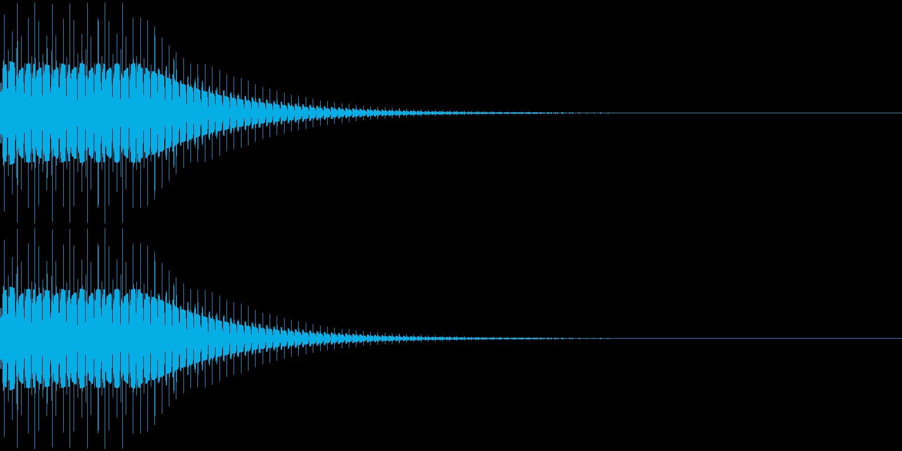 デロロローンの再生済みの波形