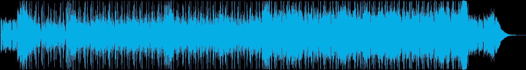 かっこいい映像に合うスパイ音楽の再生済みの波形