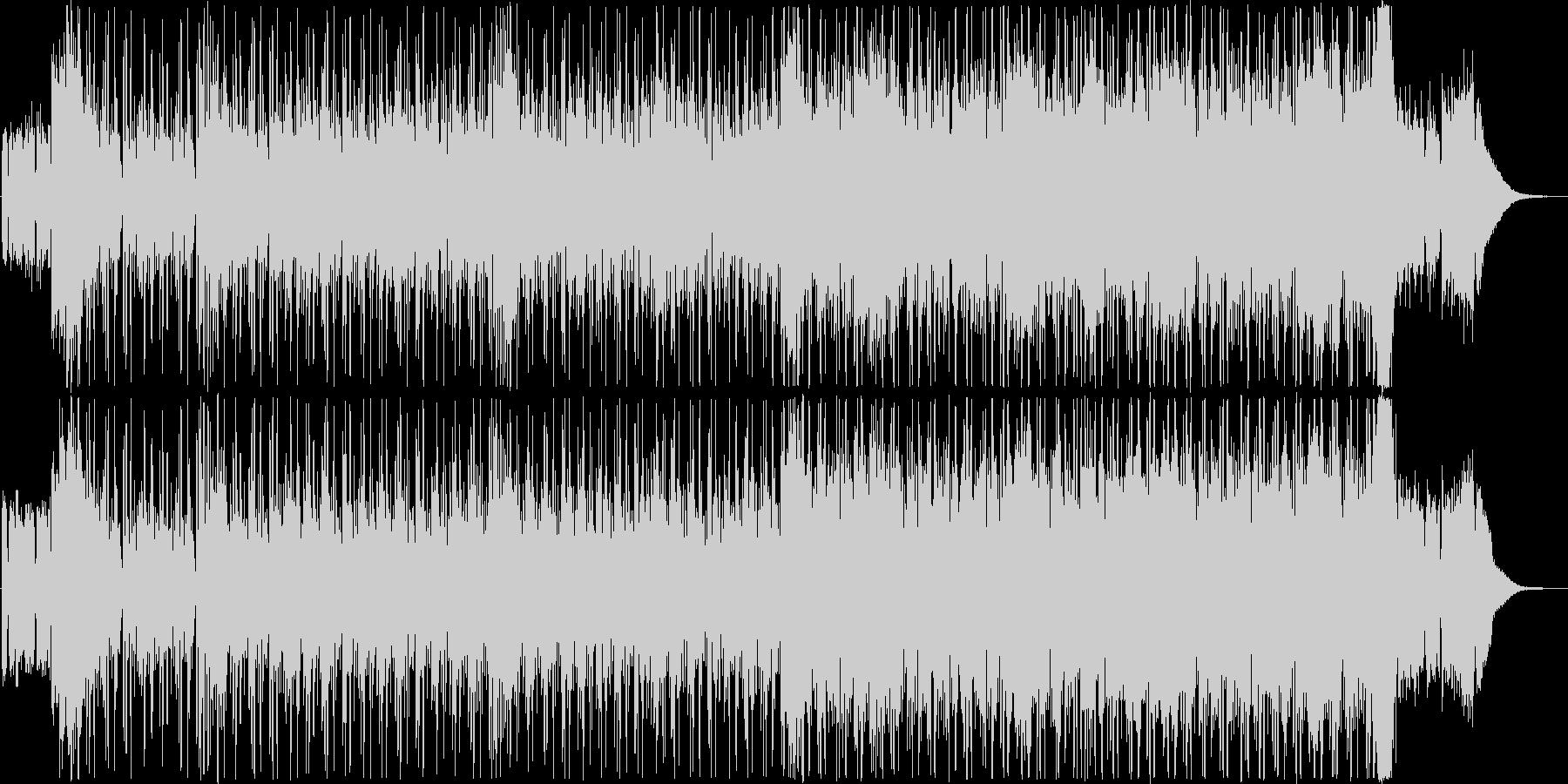 かっこいい映像に合うスパイ音楽の未再生の波形