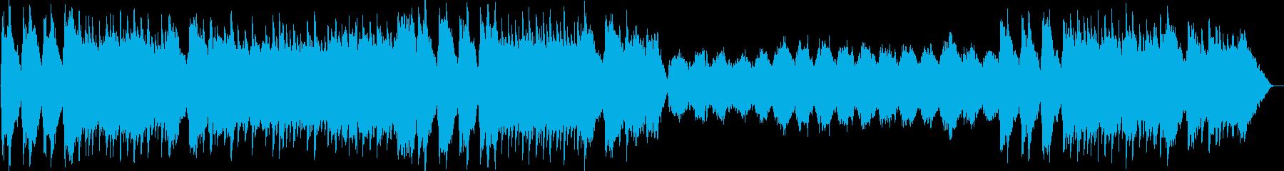幻想的なメロディのポップスの再生済みの波形