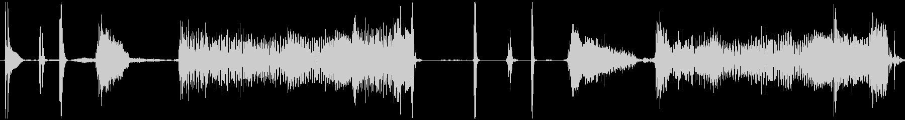 【ワウ/ギター/わかちこアイキャッチ】の未再生の波形