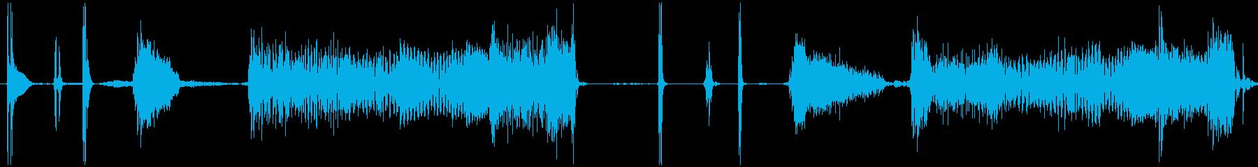 【ワウ/ギター/わかちこアイキャッチ】の再生済みの波形