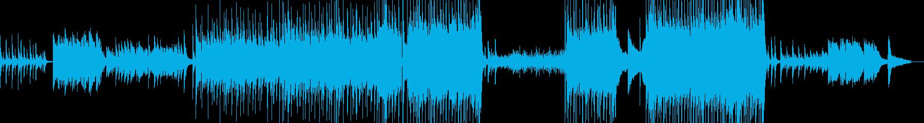 孤独で切ないピアノバラードの再生済みの波形